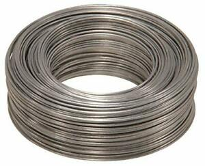 The Hillman Group 123106 Steel 20 gauge Galvanized Hobby Wire 20 x 175'