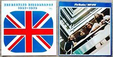 """2x Stapled Inserts Only """"NO RECORD"""" Beatles 1967-1970 Blue Album EAP-9034B Japan"""