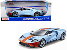 2017 Ford GT Gulf Oil 1/18 Scale Diecast Car Model By Maisto 31384