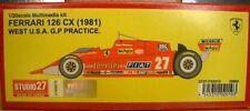 Studio27 1/20 Ferrari 126 CX 1982 West USA GP Practice Multimedia Kit