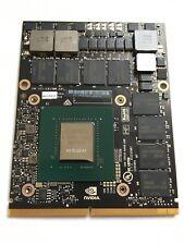 Quadro P5000 MXM 16GB GDDR5 Video Card N17E-Q5-A1 for M7710 M7720 Zbook G4 DELL