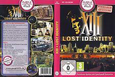 XIII: Lost Identity * Wimmelbild-Spiel * (PC, 2012, DVD-Box)