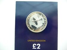 2018 RAF Centenary Spitfire £2 Two Pound BU Coin In Certified Pack.