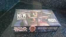 Star Trek The CCG's Second Edition Card Game Sealed Box 30 booster packs Nemesis