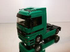TEKNO HOLLAND MERCEDES BENZ TRUCK 1857 ACTROS - GREEN 1:50 VERY GOOD CONDITION