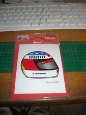 ADESIVO VINTAGE STICKER michael schumacher collection il casco