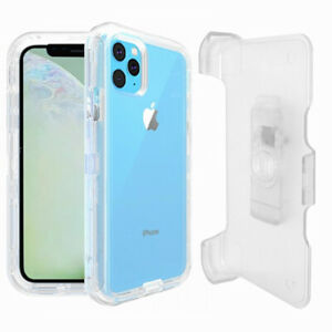 For Apple iPhone 11 Defender Case Cover with Belt Holster Clip fits Otterbox