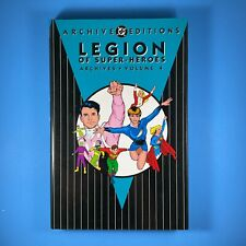 DC Archive Editions Legion of Super-Heroes Vol.4 HC 224pgs 2nd Printing OOP 1994