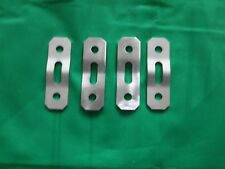 Lotus Elise S2 4x Upgraded Stainless Steel Exhaust Hanger Plates New A117S0049F