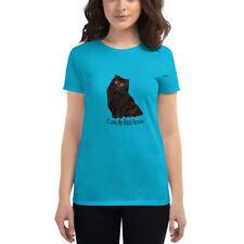 I Love My Black Persian Cat Women's short sleeve t-shirt