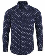 Camisas y polos de hombre azul color principal blanco