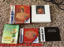 THE LEGEND OF ZELDA: ORACLE OF SEASONS (Nintendo Game Boy Color, 2001) CIB Mint