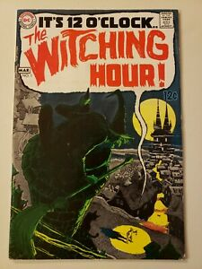 Witching Hour #1. DC. March 1969. FN+ 6.5 or HIGHER! Cardy/Neal Adams. Mordred.