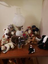Boyd's Bears 11 Lot Animal Themed
