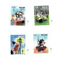 Sierra Leone - Disney Stamps - Set of 4 Stamps - MNH Set