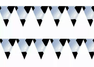 Football Pennant Banner Bunting-Ideal For Football Themed Party-12 Flags-12 Ft
