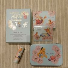 "Paul & Joe X Disney ""Alice in Wonderland"" Collection 2010 Cosmetics w/can New!!"