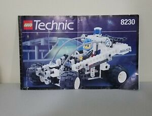 Lego Technic 8230 Police Buggy Manual ONLY no pieces 1996