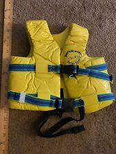 Texas Rec Supersoft Swim Life Vest Small 23-24in. - Kool yellow