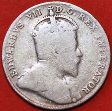 10 Cents 1902 Edward VII silver Canada KM#10