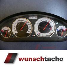 """Tachoscheibe für Tacho BMW E36 Benziner """"Sport"""" 260Km/h top"""