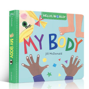 Hello World! My Body Book - Teaches Toddlers About The Human Body