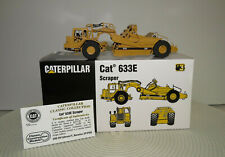 HO CCM Brass Caterpillar 633E Scraper 712/1000 LE Die-cast w/Box COA