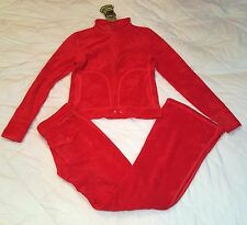 Juicy Couture terry tracksuit set with top and pants size P