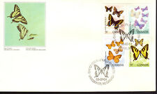 Canada - Butterflies - 1210-3 U/A Fdc - Canada Post Cachet - 1988