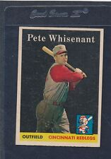 1958 Topps #466 Pete Whisenant Reds EX/MT 58T466-72616-1