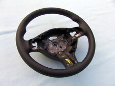 BMW E46 M3 SMG STEERING WHEEL, NEW LEATHER AND 3 COLOR STITCHING