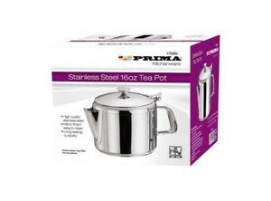 Prima Stainless Steel 16oz Tea Pot 500ml