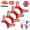 4Pcs 90° Right Angle Clip Corner Clamp Photo Picture Frame Mitre Clamp UK