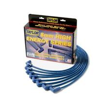 Taylor Spark Plug Wires StreeThunder Spiro-Wound 8mm Blk Straight Boots 51052