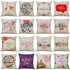 "18"" Mother's Day Pattern Home Decoration Sofa Cushion Cover Pillow Case"