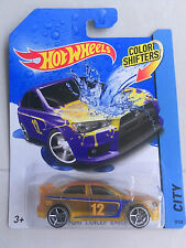 Hot Wheels COLOR SHIFTERS Translucent Yellow Mitsubishi Evolution X, RARE