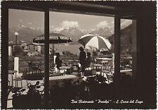 S.CROCE DEL LAGO - BAR RISTORANTE PREALPI - FARRA D'ALPAGO (BELLUNO) 1965