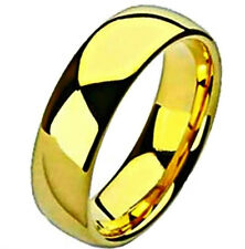 Band, size 12 - in Gift Box Highly Polished Gold Plated Titanium Ring, Wedding