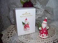 2006 Santa Claus  Hallmark Christmas Ornament St. Nick