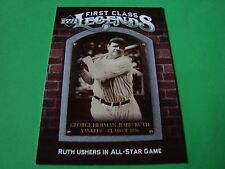 2006 UD upper deck FCL-10 BABE RUTH   New York YANKEES
