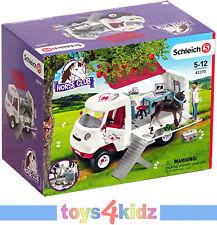 Schleich 42370 mobile Tierärztin mit Fohlen
