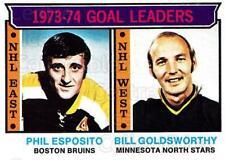 1974-75 Topps #1 Phil Esposito, Bill Goldsworthy