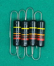 Sprague Bumble Bee Capacitors Vintage .022 uF @ 400 Pulls w/Ext Leads Qty. 4