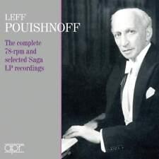 [BRAND NEW] 2CD: LEFF POUISHNOFF: COMPLETE 78-RPM & SELECTED SAGA LP RECORDINGS