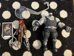McFarlane DC Multiverse BANE & SCARECROW Complete BAF BATMAN