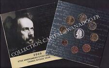 Euro BU Grèce 2009 9 pièces avec la 10€ Argent Yannis Ritsos