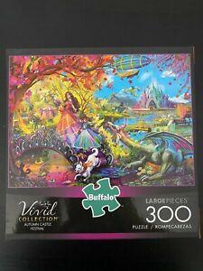 Buffalo Games - Autumn Castle Festival - 300 Large Piece Jigsaw Puzzle