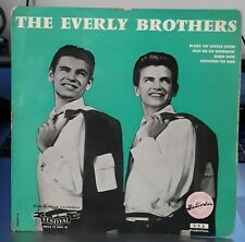 Trés Rare EP 7' - THE EVERLY BROTHERS - Wake up Little Susie - OR. FR. 1958