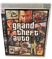 Grand Theft Auto IV  PS3 PlayStation 3 Game