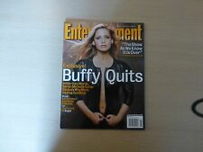 Buffy The vampire Slayer Entertainment Mag